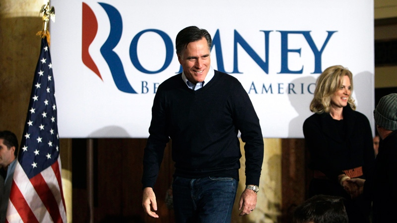 Romney hopes for lead as Iowa vote begins