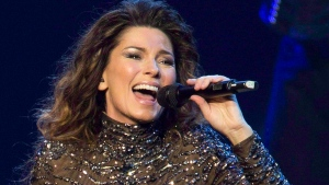 Shania Twain performs at The Colosseum at Caesars Palace in Las Vegas, Dec.1, 2012 file photo. (Invision / Eric Jamison)