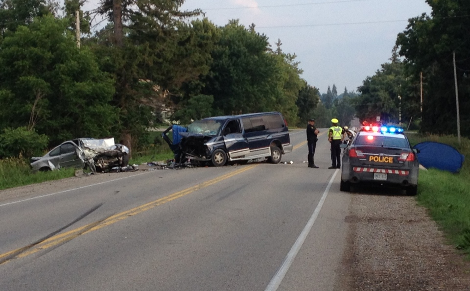 Charges laid after Stratford-area crash sends 10 to hospital | CTV