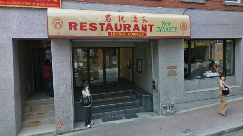 The fracas took place at the New Dynasty Restaurant at 1110 Clark St.
