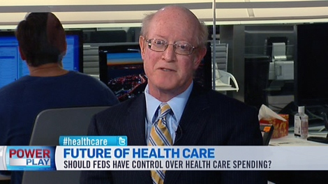 Dr. Michael Rachlis, health policy analyst, appears on CTV's Power Play from BNN studios in Toronto, Tuesday, Jan. 3, 2012.