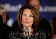 Bachmann exits presidential race after poor results in Iowa