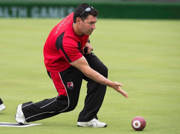 Lawn bowler Tim Mason