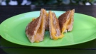LUNCH: Grilled cheese with bacon