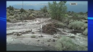 Canada AM: Flash flooding in Nevada