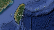 Google map of Taiwan