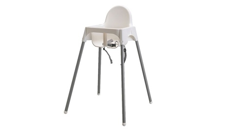 IKEA recalls belt on Antilop high chair