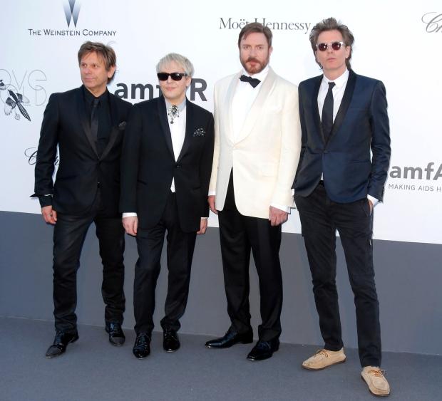 Duran Duran members at amfar