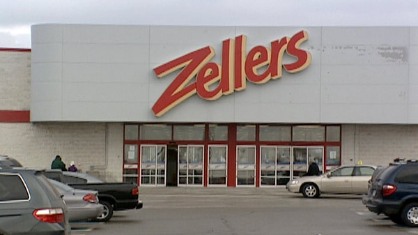 A Zellers store is seen in Cambridge, Ont. on Thursday, Jan. 5, 2012.