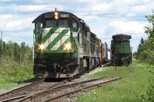 Lac-Megantic locomotive
