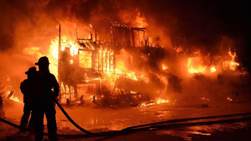 Fire in L'Isle-Verte, Que. senior's residence