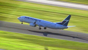 WestJet flight lands safely at Toronto Pearson