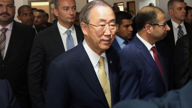 Ban Ki-moon comments blocking of Syrian aid