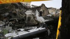 Flight GE222 wreckage surveyed in Taiwan