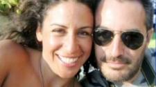 Carmen Ximena Osegueda Magana and boyfriend Alejandro Honorio Santamaria are seen in this undated handout photo.