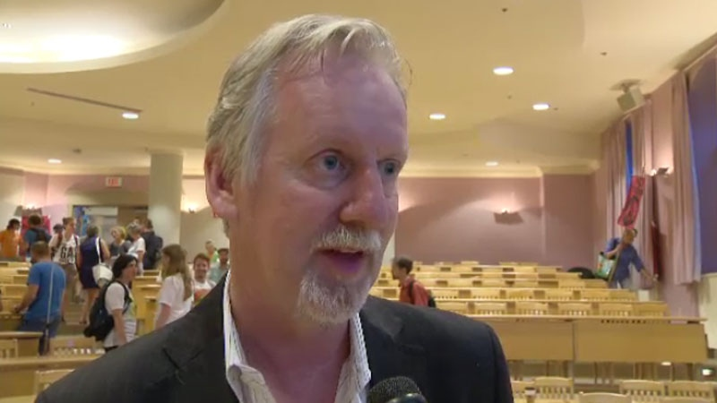 Cape Breton University President David Wheeler was placed on a leave of absence with pay on Nov. 1 while officials investigated governance issues.