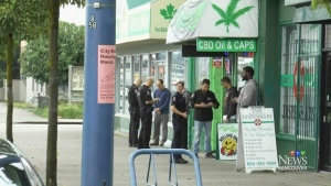 Pot dispensary raided after reports weed re-sold