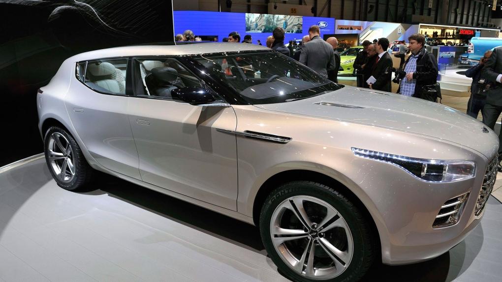Aston Martin to revive the Lagonda