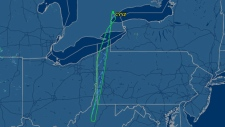Sunwing flight returns to Toronto