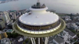 Drone debate; Did a drone fly into Seattle's Space