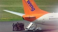 Panama-bound flight returns to Toronto