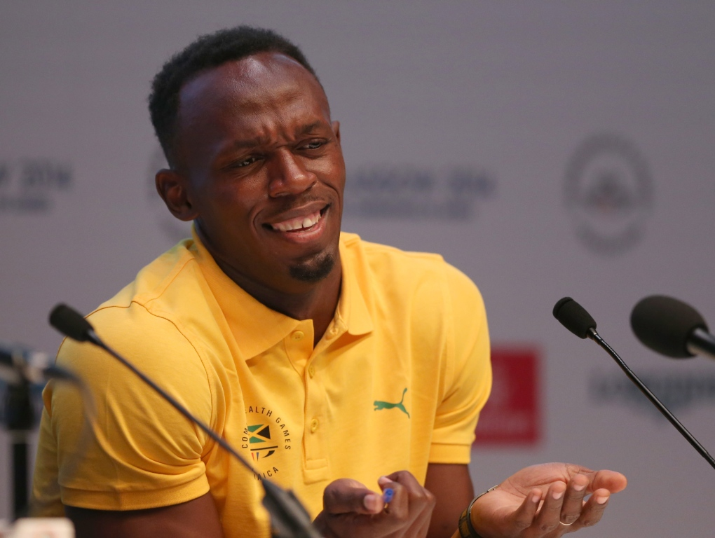 Usain Bolt at Commonwealth Games