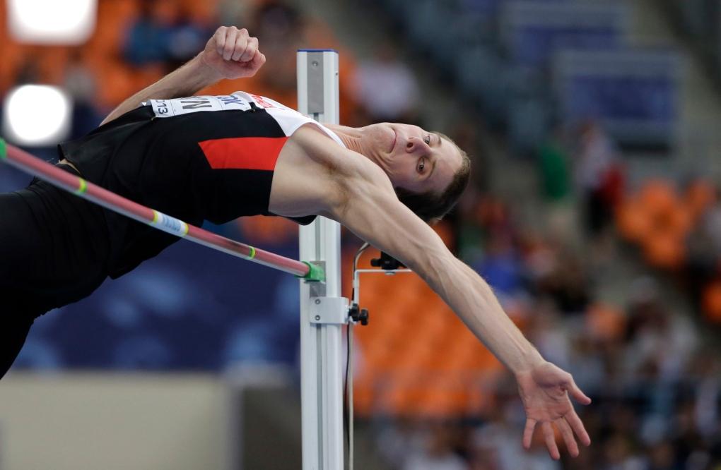 High jumper Derek Drouin