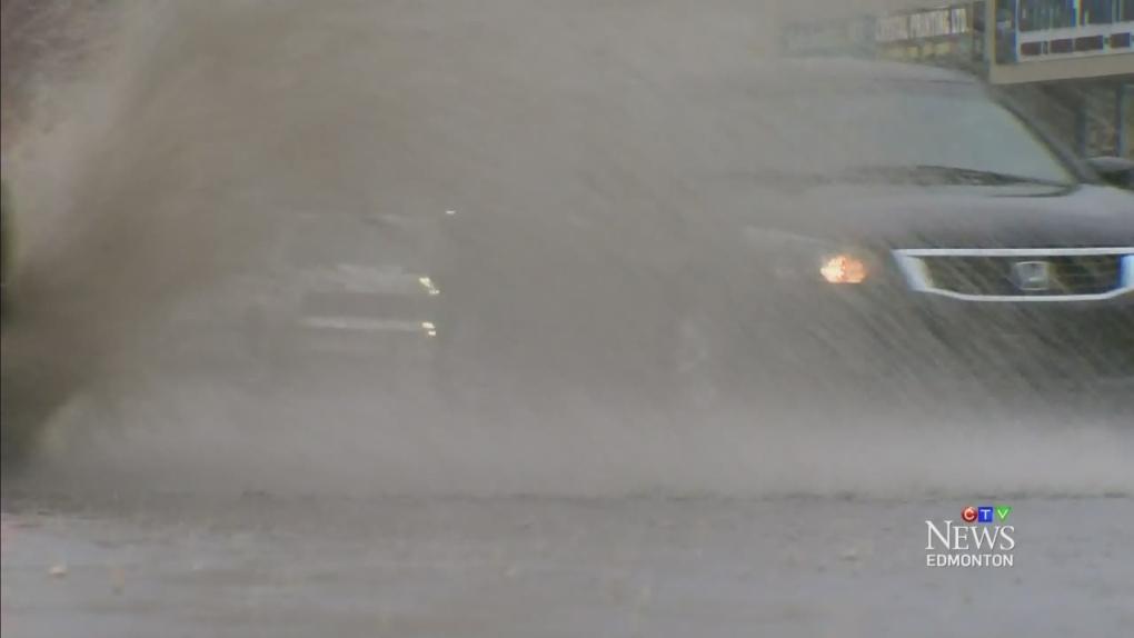 CTV Edmonton: Cleanup continues after rain storm