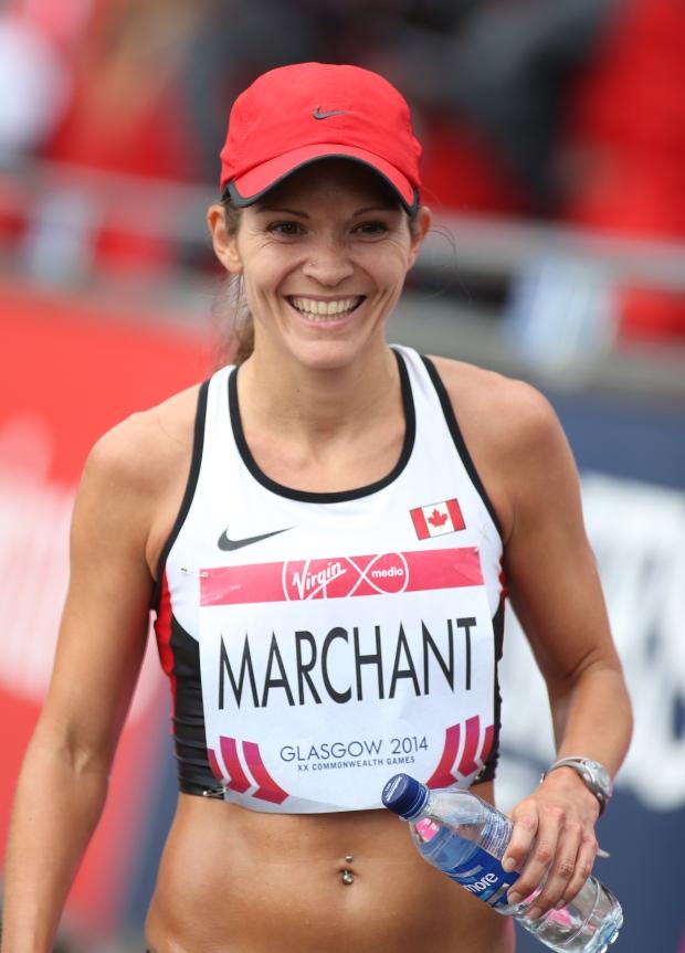 Canada's Lanni Marchant