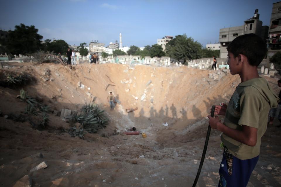 Strikes in Gaza