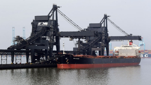 U.S. coal exports
