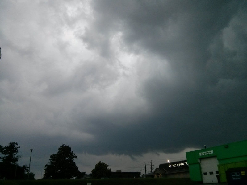Tornado reported severe weather whips through On