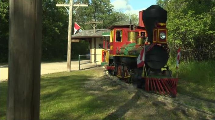 Assiniboine Park Steam Train