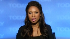 An academy award winning actress and new author Jennifer Hudson appears on Canada AM, Tuesday, Jan. 10, 2012.