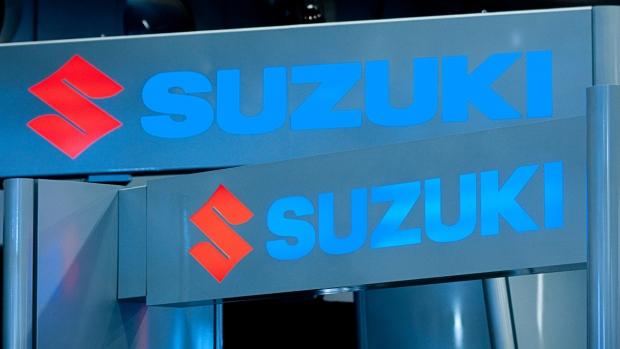 Suzuki signs