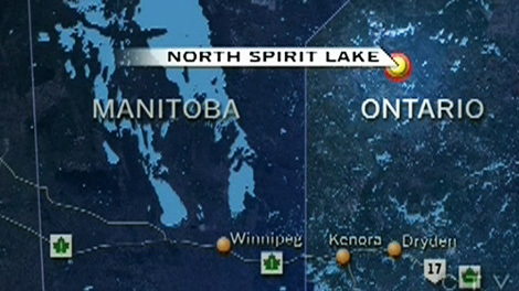 Five people are feared dead after a plane crashed in the North Spirit Lake Reserve near Dryden, Ont., on Tuesday, Jan. 10, 2012.
