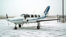 A Piper Navajo aircraft is shown in this undated file photo. (Courtesy: Keystone Air Service Ltd.)
