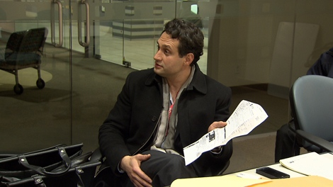 Pro Ace Heating and Cooling owner Ali Soroush came to CTV's Vancouver studios to watch footage of the Steele on Your Side undercover investigation. (CTV)