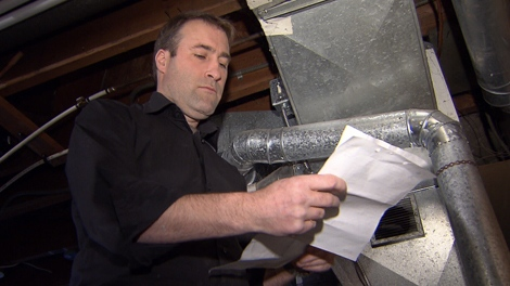 Homeowner Brian Mott contacted Steele on Your Side after he received an estimate for an unnecessary furnace part. (CTV)