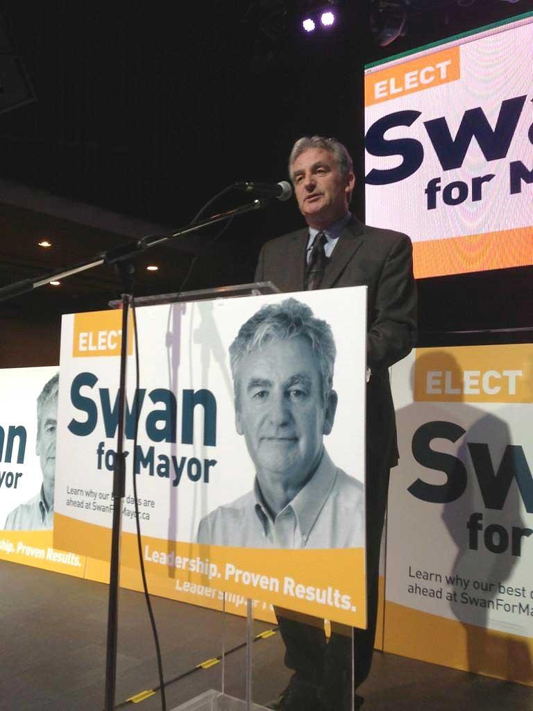 Joe Swan running for mayor