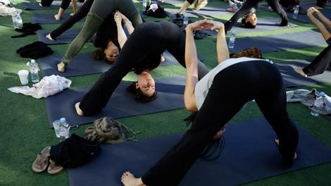 Don't do Yoga?