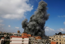 Israel attacks Gaza