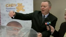 CHEO lottery grand prize winner drawn on CTV News at Noon