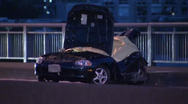 Granville Street Bridge collision
