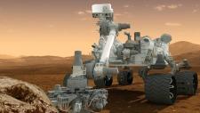 NASA Mars 2020 mission Curiosity rover