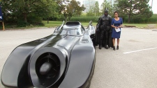 Brampton Batman buys new Batmobile