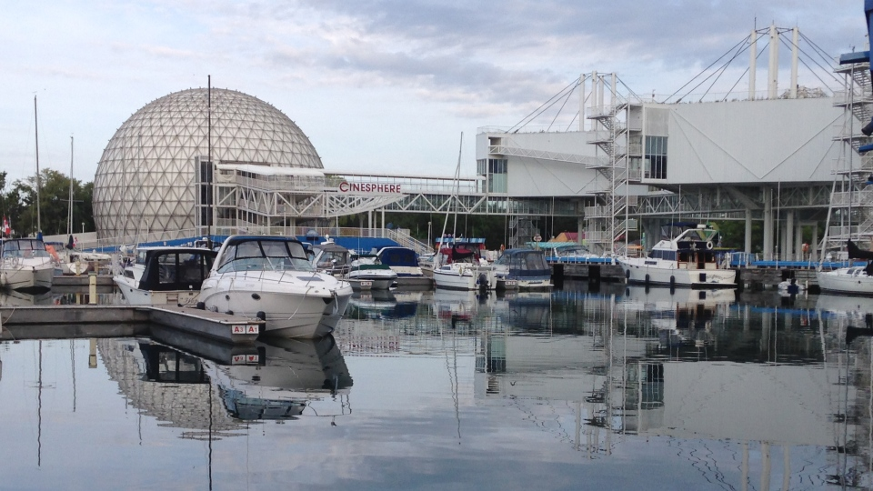 Toronto's Ontario Place is shown on Thursday, July 31, 2014. (George Stamou / CTV News)