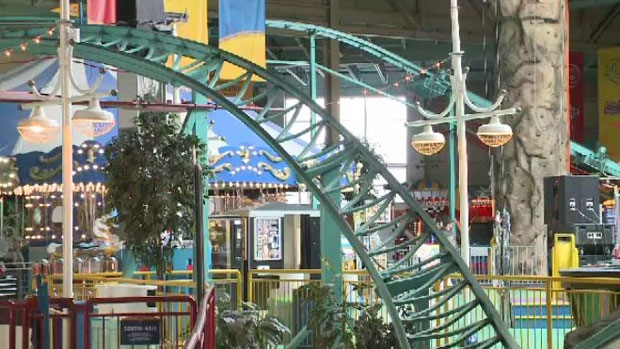 The indoor family park features rides, games and activities such as miniature golf.