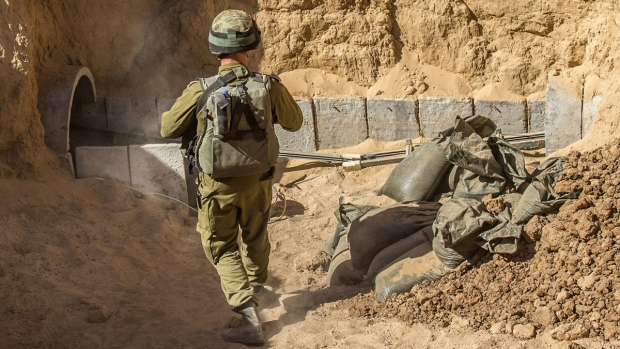 IDF destroys Gaza terror tunnel being built by Hamas