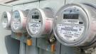 Smart meters are seen in this photo taken July 31, 2014 in Regina.